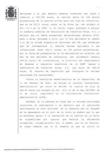 LA AUDIENCIA NACIONAL ANULA SENTENCIA A LA AGENCIA TRIBUTARIA POR NO HABER REQUERIDO PREVIAMENTE-4